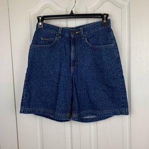 Vintage Lee High Waisted Jean Shorts